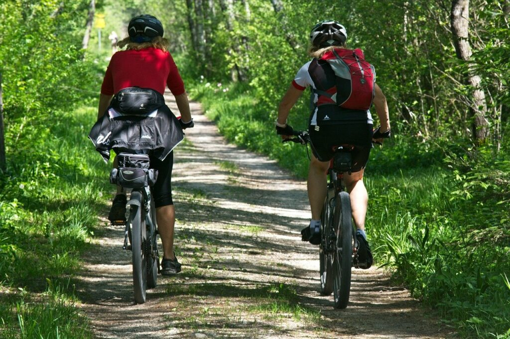 cycling, leisure, recovery